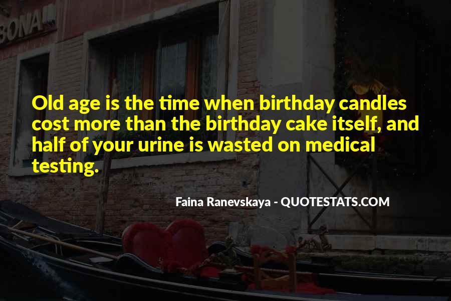 Quotes About Birthday Cake #1274042
