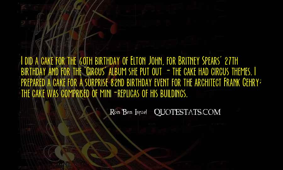 Quotes About Birthday Cake #1336722