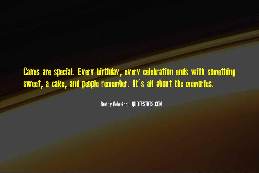 Quotes About Birthday Cake #1622842
