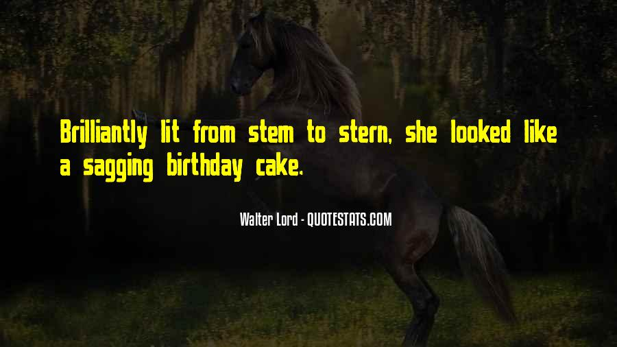 Quotes About Birthday Cake #165460