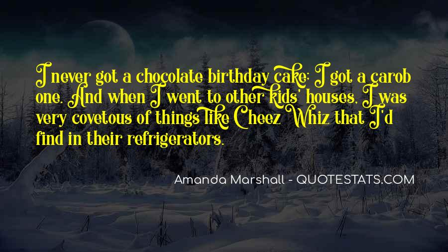 Quotes About Birthday Cake #34844