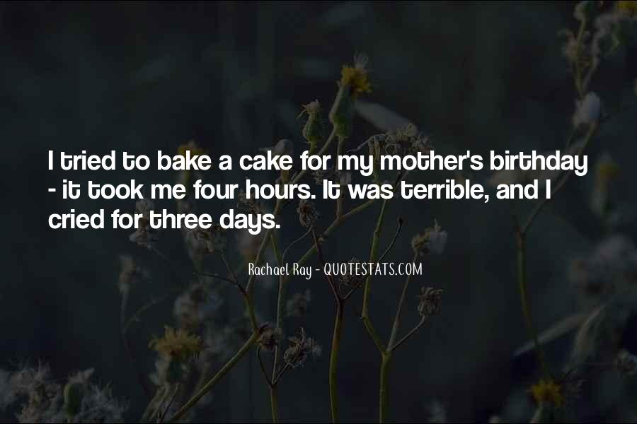 Quotes About Birthday Cake #404401