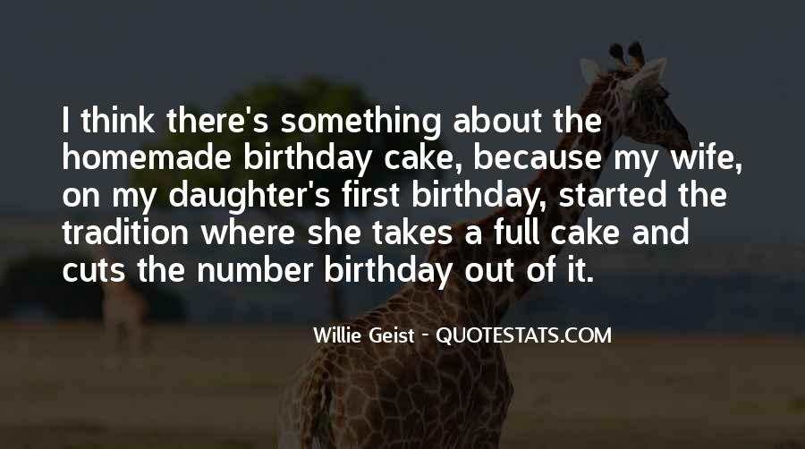 Quotes About Birthday Cake #483595