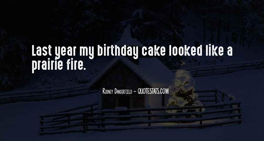 Quotes About Birthday Cake #643815