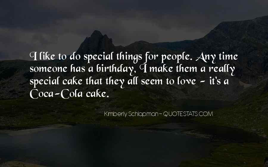 Quotes About Birthday Cake #838471