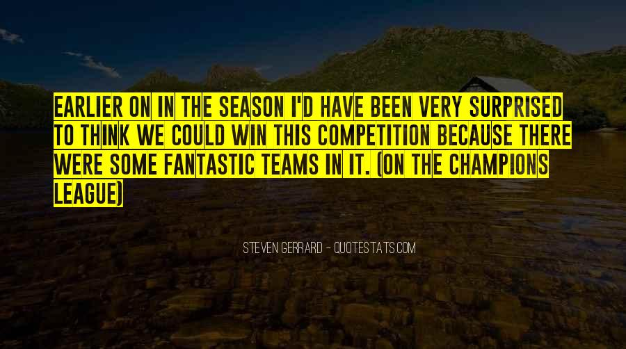 Quotes About Teams Winning #1053887