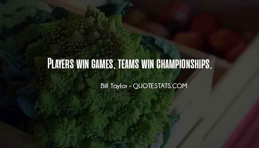 Quotes About Teams Winning #1336962