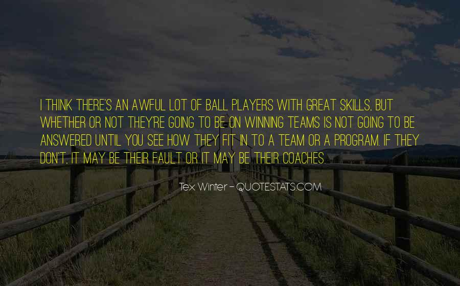 Quotes About Teams Winning #1390557
