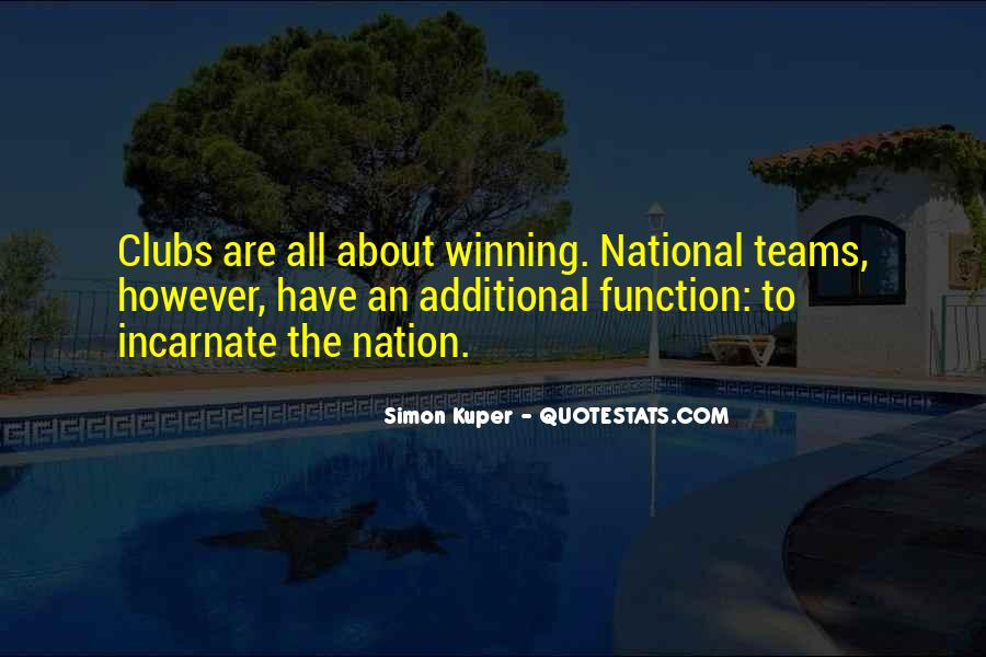 Quotes About Teams Winning #1439385