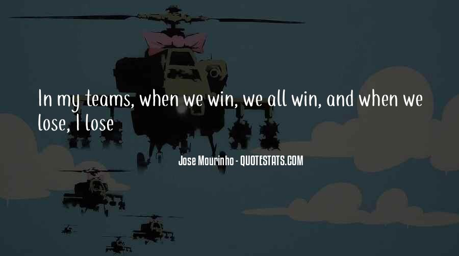 Quotes About Teams Winning #1467676