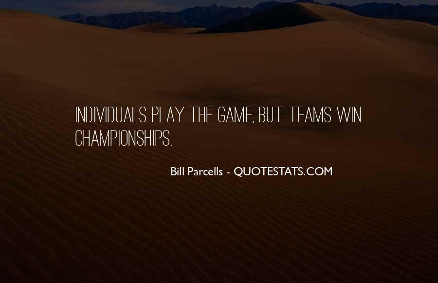 Quotes About Teams Winning #189982