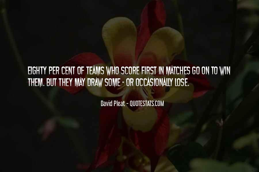 Quotes About Teams Winning #243794