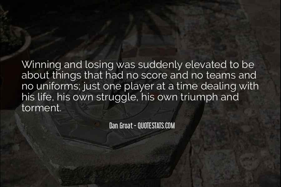 Quotes About Teams Winning #426814