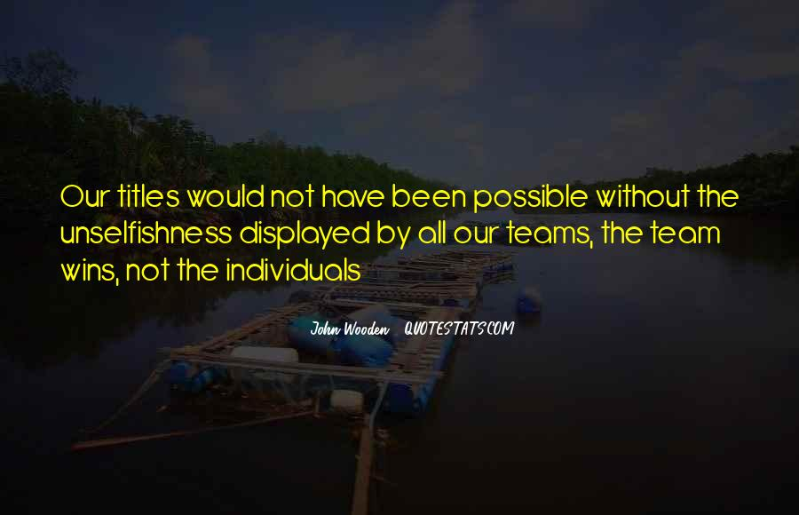 Quotes About Teams Winning #530249