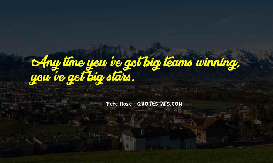Quotes About Teams Winning #53111