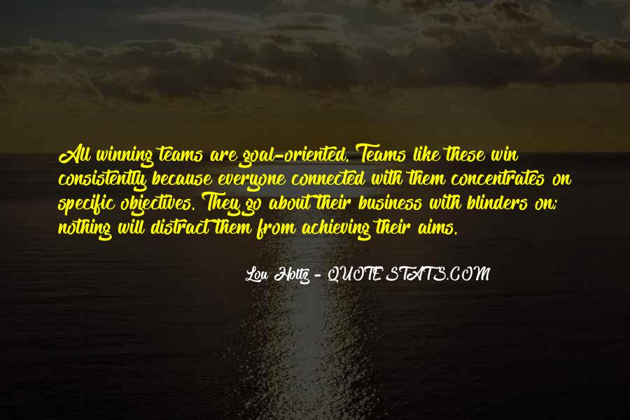 Quotes About Teams Winning #760977