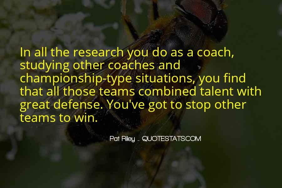 Quotes About Teams Winning #800033