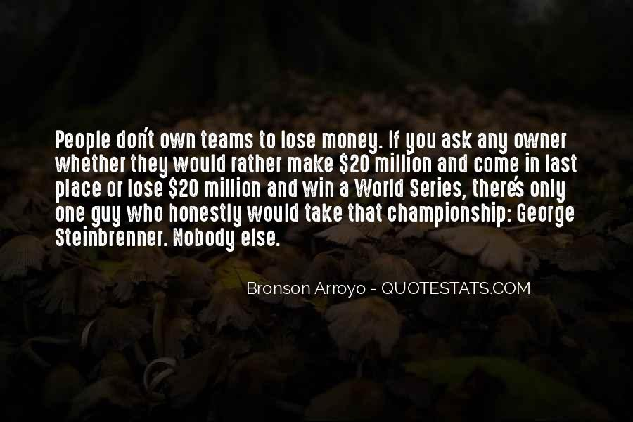Quotes About Teams Winning #947052