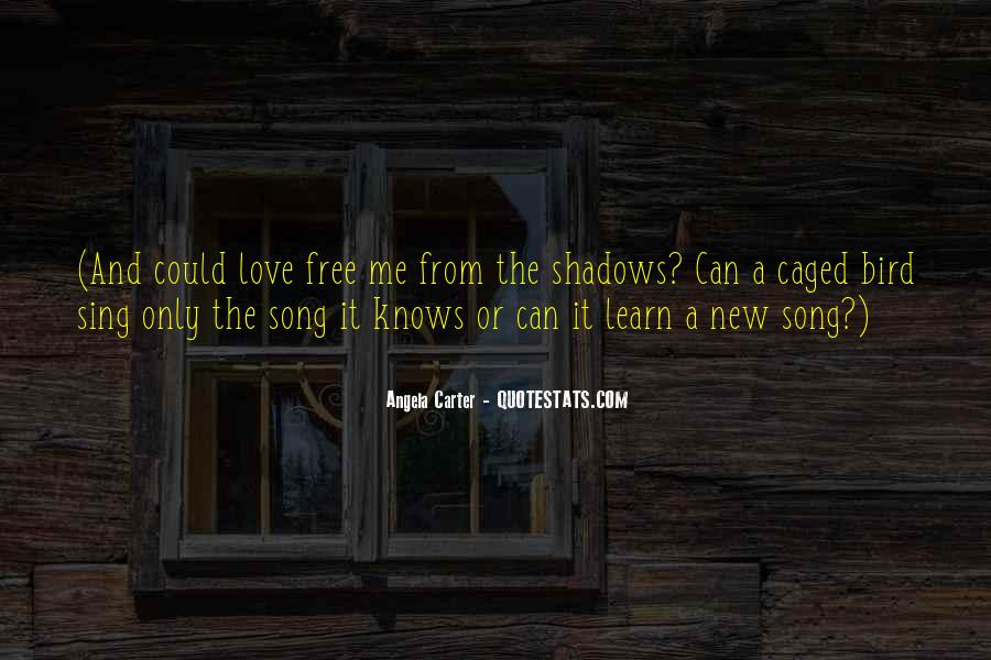 Quotes About Shadows And Love #1128601