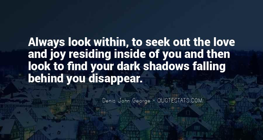 Quotes About Shadows And Love #11536