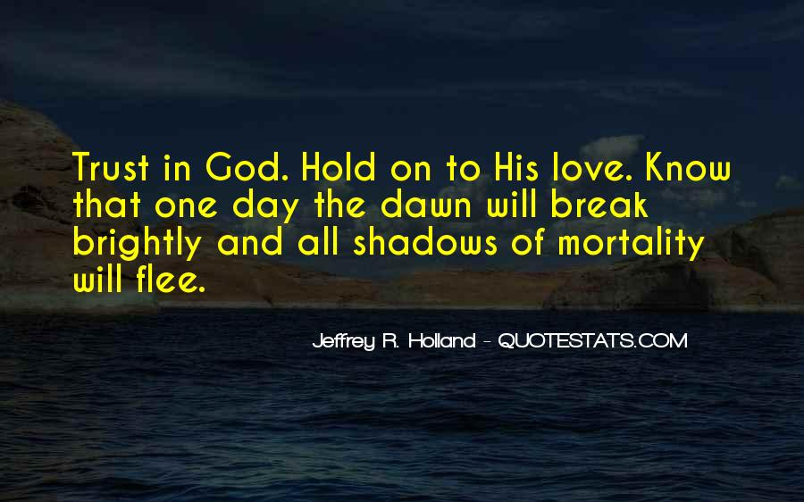 Quotes About Shadows And Love #1262205