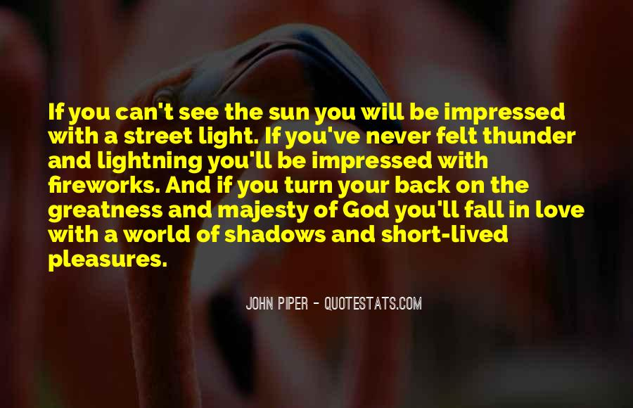 Quotes About Shadows And Love #1467437
