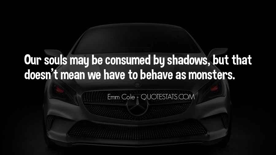Quotes About Shadows And Love #1476424