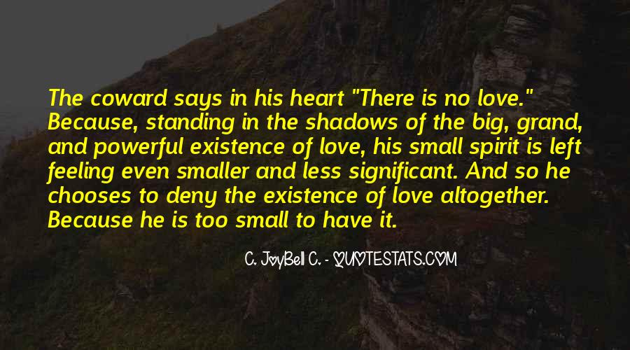 Quotes About Shadows And Love #1709401