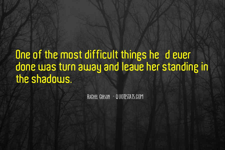 Quotes About Shadows And Love #473655