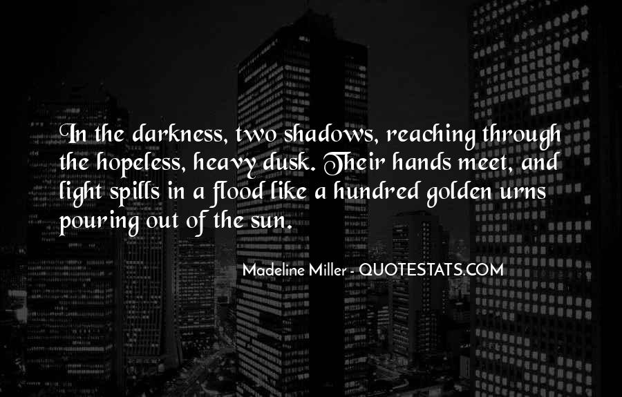 Quotes About Shadows And Love #514378