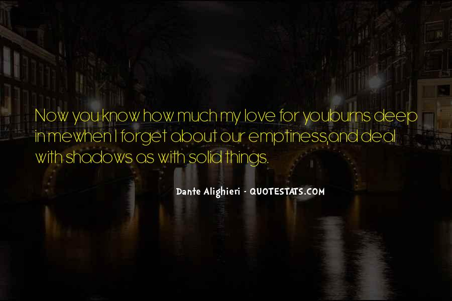 Quotes About Shadows And Love #53865
