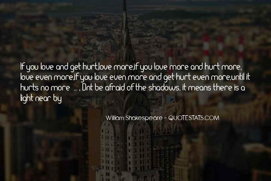 Quotes About Shadows And Love #726390