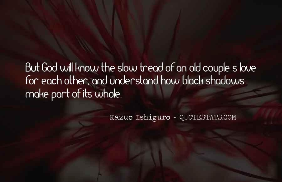 Quotes About Shadows And Love #748716