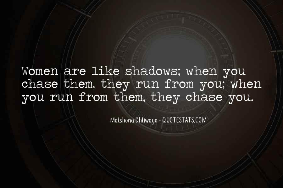 Quotes About Shadows And Love #793986