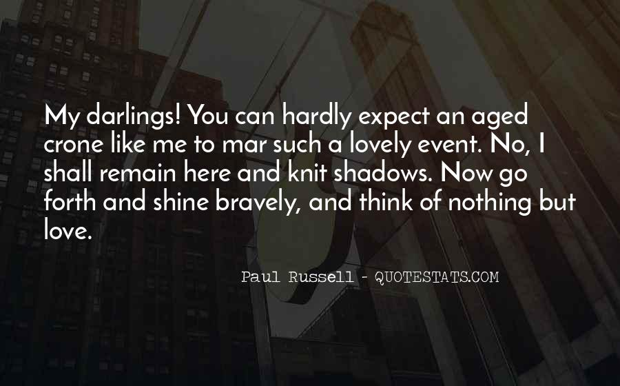 Quotes About Shadows And Love #931428