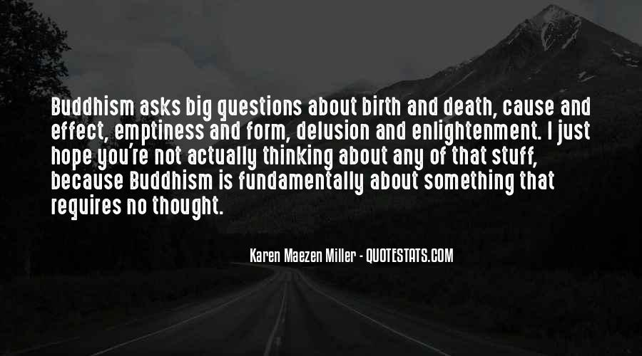Quotes About Death Buddhism #1271762