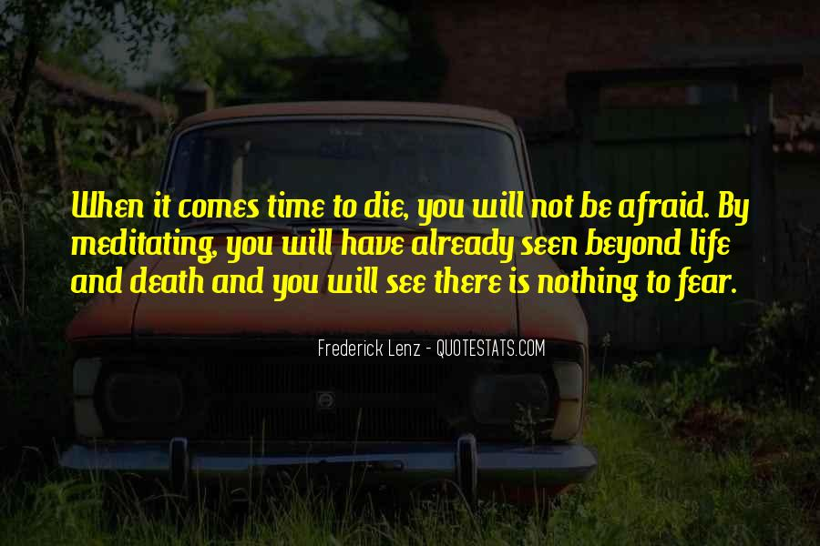 Quotes About Death Buddhism #596867