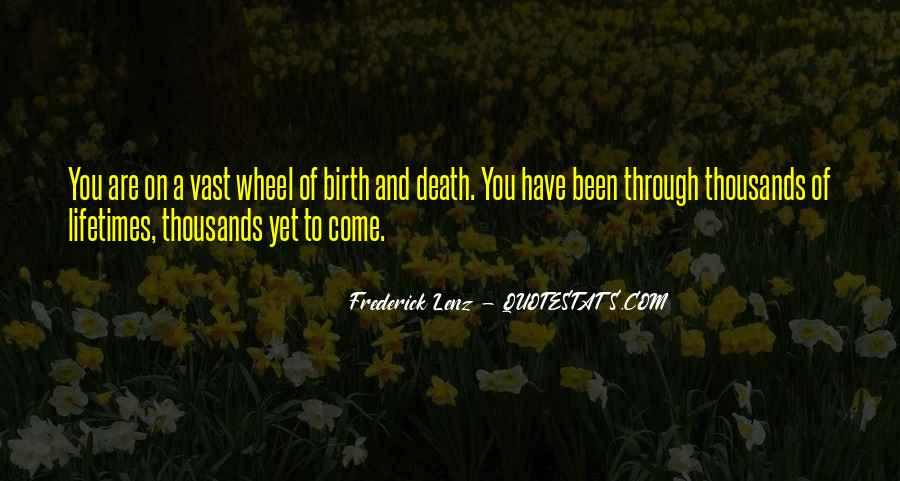 Quotes About Death Buddhism #914079