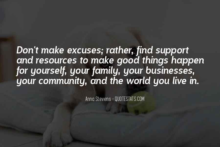 Quotes About Excuses And Success #1076472