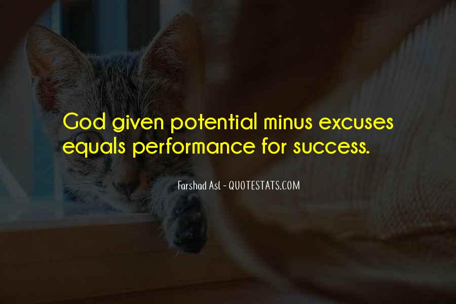 Quotes About Excuses And Success #1157975
