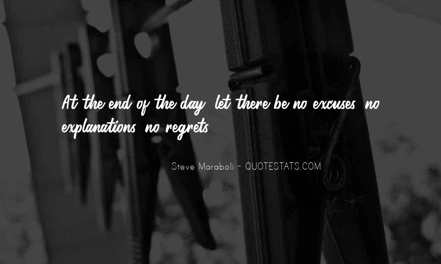 Quotes About Excuses And Success #1467418