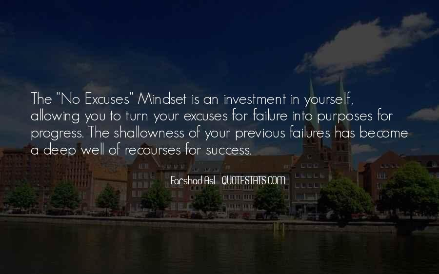 Quotes About Excuses And Success #1499812