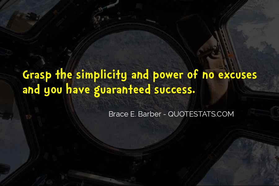 Quotes About Excuses And Success #1571115