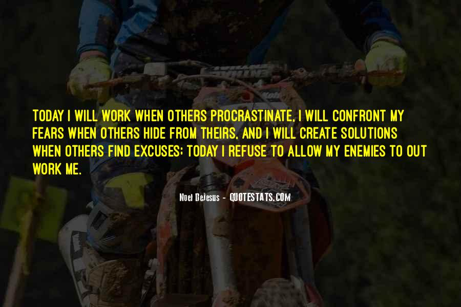 Quotes About Excuses And Success #1583621