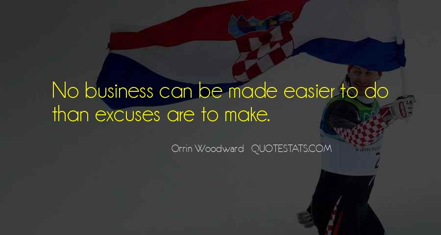 Quotes About Excuses And Success #1631651
