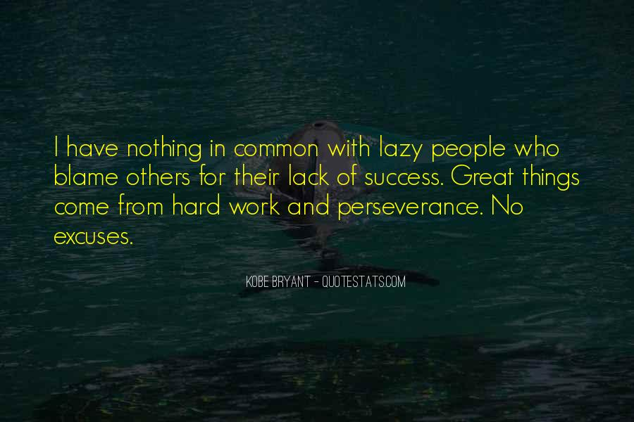 Quotes About Excuses And Success #1642585