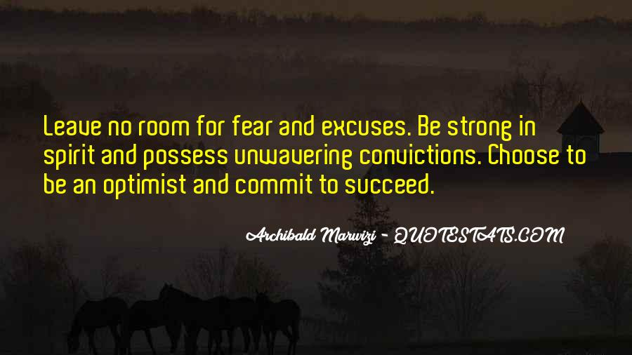 Quotes About Excuses And Success #1870339