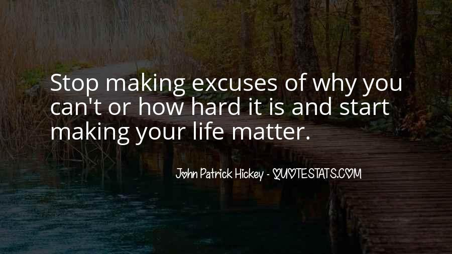 Quotes About Excuses And Success #207330