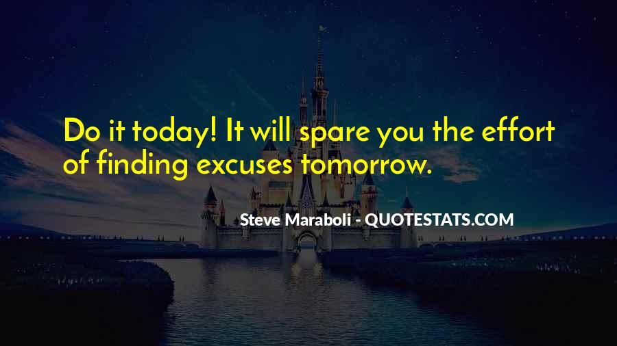 Quotes About Excuses And Success #223103