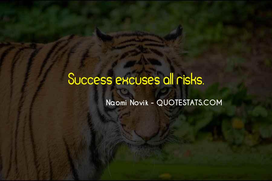 Quotes About Excuses And Success #32305